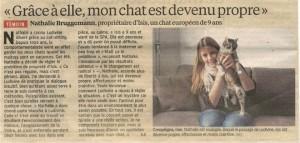Article- le Parisien Oise - 19 octobre 2013 - Témoignage dialogue intuitif animaux